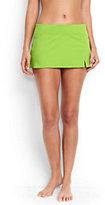 Classic Women's Mini SwimMini Skirt-Limeade Green