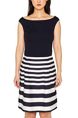 Esprit Women's 079eo1e017 Dress,(Size: 38)