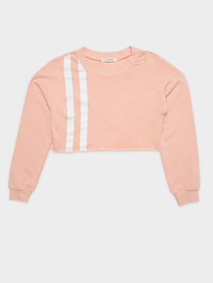 Glamorous Stripe Sweater in Pink