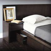 west elm Storage Bed Nightstand - Chocolate