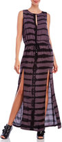 Religion Positive Tie-Dye Maxi Dress