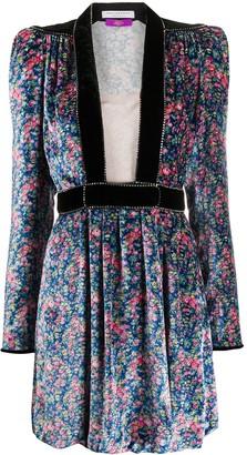 Philosophy di Lorenzo Serafini Floral Print Mini Dress