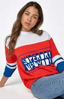 Superdry Pacific Colorblock High Neck Sweatshirt