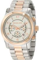 Michael Kors Men's MK8176 Runway Two Tone Watch