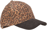 David & Young Brown Leopard Baseball Cap
