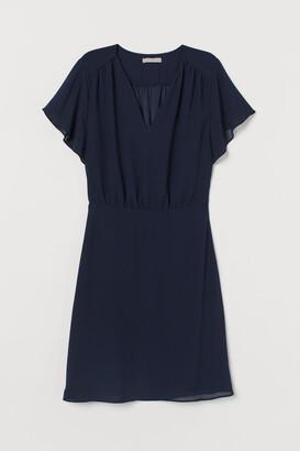 H&M Chiffon Dress - Blue
