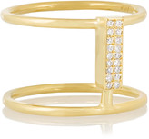 Ileana Makri Connected 18-karat gold diamond ring