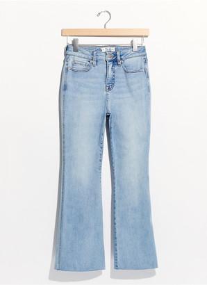 Free People Kiki High Waisted Kick Flare Jeans