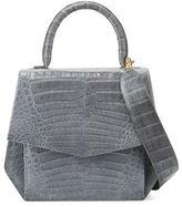 Nancy Gonzalez Crocodile Medium Structured Top-Handle Bag
