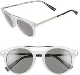 Loewe Women's 51Mm Keyhole Round Sunglasses - Navy Blue