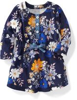 Old Navy Floral Henley Dress for Baby
