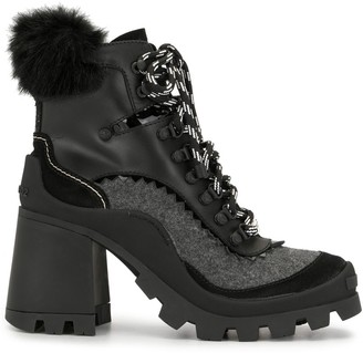 DSQUARED2 85mm Hiker-Style Boots
