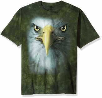 The Mountain Eagle Face Adult T-Shirt