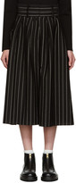 J.W.Anderson Black Pleat Front Culottes