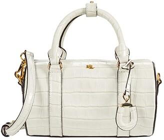 Lauren Ralph Lauren Zoey 22 Crossbody (Vanilla) Handbags