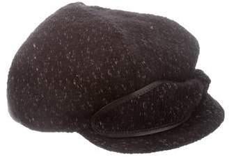 Jennifer Ouellette Tweed Newsboy Hat