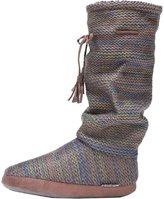 Muk Luks Women's Tall Grace Tie Slipper Boot