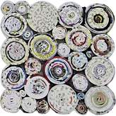 Mes Homewares Recycled Paper Circles Coaster (Set of 4)