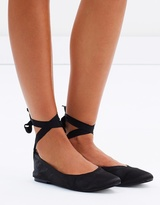 Aerin Lace-Up Flats