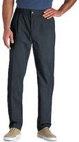 Creekwood Elastic-Waist Twill Pants Casual Male XL Big & Tall