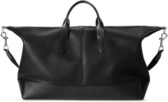 Shinola Canfield Classic Leather Duffle Bag