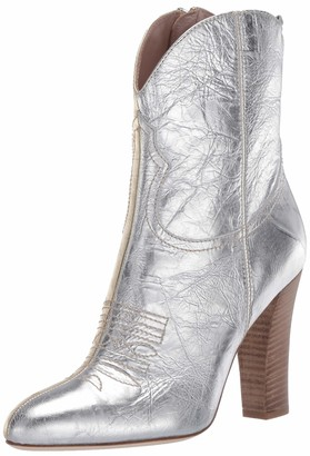 Sarah Jessica Parker Women's Tryst Almond Toe Cowboy Boot Ankle