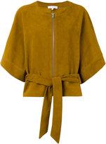 IRO kimono leather jacket