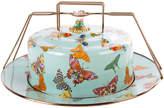 Mackenzie Childs MacKenzie-Childs - Butterfly Garden Cake Carrier - Sky