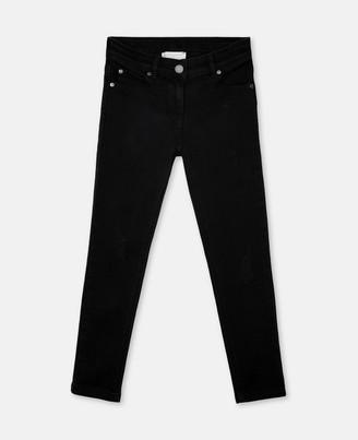 Stella Mccartney Kids Stella McCartney distressed denim trousers