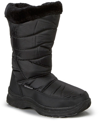 Skadoo Women's Cold Weather Boots Black - Black Snow Boot - Women