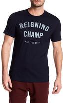 Reigning Champ Gym Logo Short Sleeve Tee