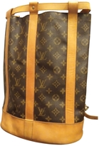 Louis Vuitton Noe leather backpack