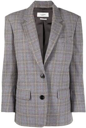 Etoile Isabel Marant Ilindae check-print blazer