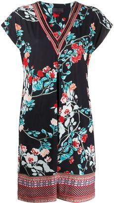 Hale Bob Floral Mini Dress