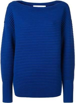 Victoria Victoria Beckham one shoulder sweater