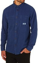 Element Collage Indigo Long Sleeve Shirt