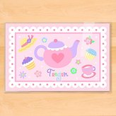 Olive Kids Bedding Personalized Tea Party Placemat