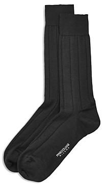 Marcoliani Milano Ribbed Dress Socks