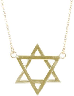 ADORNIA Gold Over Silver Necklace