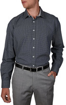 Geoffrey Beene 14th St Geo Print Slim Fit Shirt