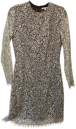 Carven White Lace Dress for Women