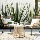 Threshold Latigo 3-pc. Rattan Patio Chat Set