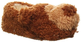 BearPaw Lil Critters Faux Fur Animal Slippers