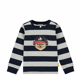 Steiff Boys' mit suer Teddybarapplikation Sweatshirt