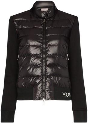 Moncler Logo-Tape Down Jacket