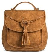 Mac & Jac Mac + Jac®; Solid Backpack - Brown
