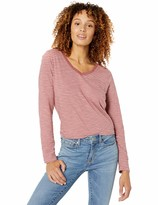 Goodthreads Amazon Brand Women's Vintage Cotton Long-Sleeve V-Neck T-Shirt
