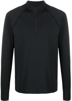 Reigning Champ Trail zip neck top