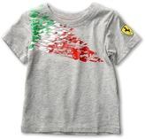 Puma Kids - SF Graphic Tee (Toddler) (Light Grey Heather) - Apparel