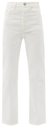Raey Find Straight-leg Jeans - White